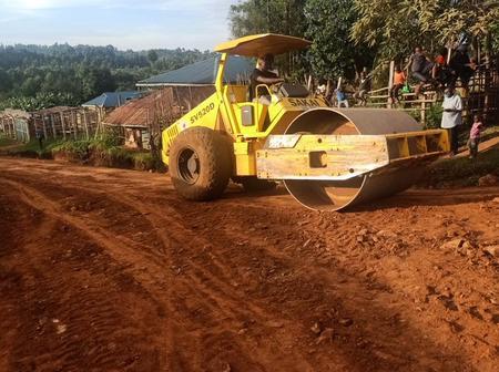 The Progress Of Roads That President Uhuru Kenyatta And Dr. Matiangi Promised To Be Tarmacked