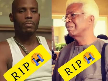 In Just 2 Days, The Entertainment Industry Has Lost 2 Great Legends (See Photos)