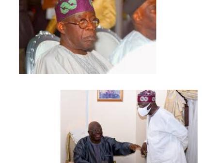 Tinubu Proves He Is A True Yoruba Man When He Pays A Condolence Visit To Ayo Adebanjo