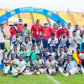 Ghana lifts 2021 U-20 AFCON trophy