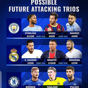 Possible Future Attacking Trio of Manchester City, Real Madrid and Chelsea