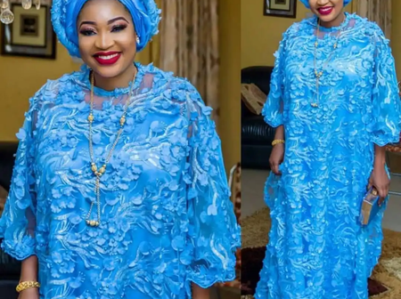 50 Outstanding And Uncommon Kaftan And Boubou Styles For Thick Madam