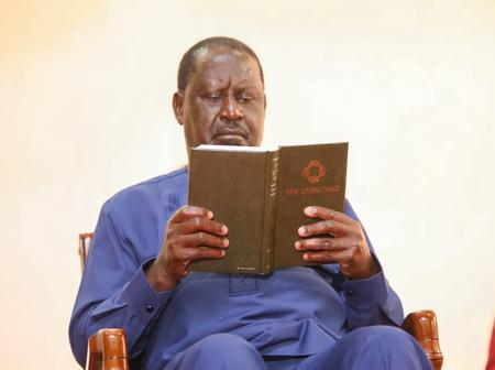Photos of Raila Odinga in a Private Meeting With Top Foreign Envoy Emerge