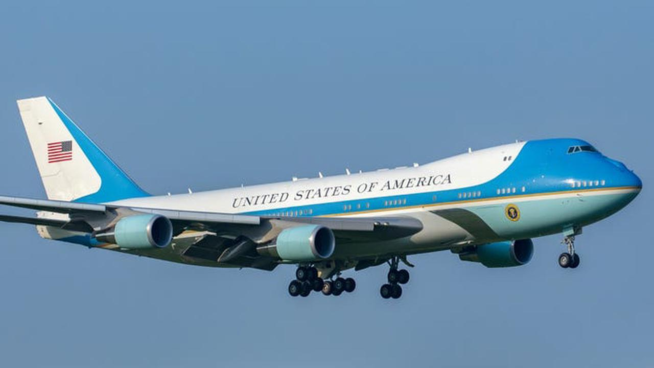 Biden will be the first president to use the new Air Force One