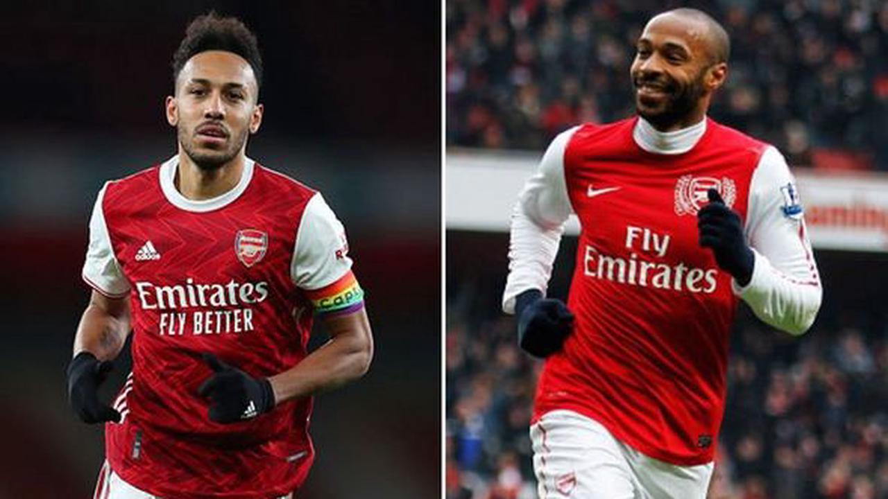 Arsenal star Pierre-Emerick Aubameyang surprising claim made in Thierry Henry comparison