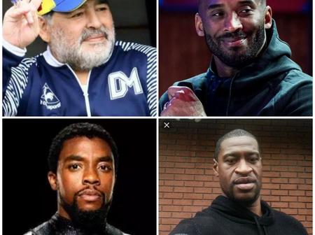 RIP: meet 6 male celebrities who died in 2020.(photos)