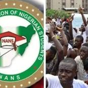NANS In South-West Demand For One Session Scholarship For Nigerian Students.