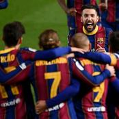 After Barcelona Comeback Victory today, To Qualify For The Final, See How They Celebrated Their Goals