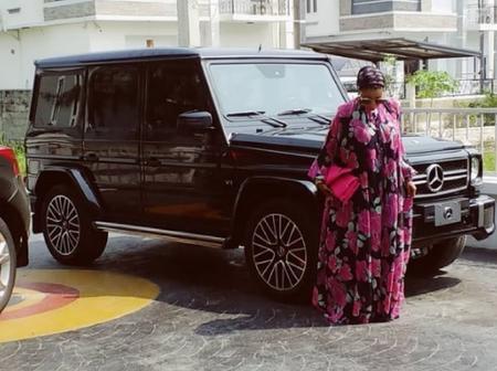 Yoruba Actress Liz Anjorin Joins The G-Wagon Gang
