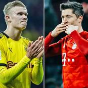 Lewandoski outscores Haaland to seal Bayern Victory in Bundesliga Klassiker match