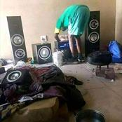 Kenyans React to Man Owning An Expensive Sound System Despite Living in Beat Up House