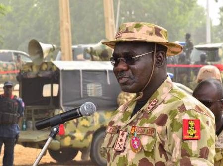 Treat All Nigerians As Boko Haram Suspects, Chief Of Army Staff, Buratai, Tells Soldiers