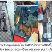 DCI Nab Mother And Daughter In Possession Of Illegal Deadly Firearms In Nairobi.