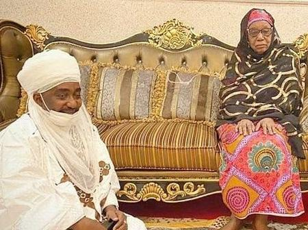 Emir Of Zazzau Pay A Courtesy Visit To Emir Sanusi Lamido's Mother [PHOTOS]
