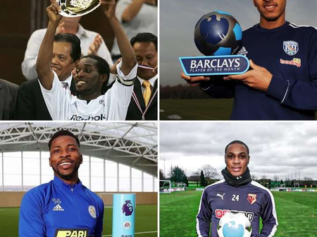 4 Nigeria players that have won the premier league player of the month