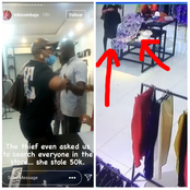Vice President's daughter shares how a woman allegedly stole 'N50K' from a customer inside her shop