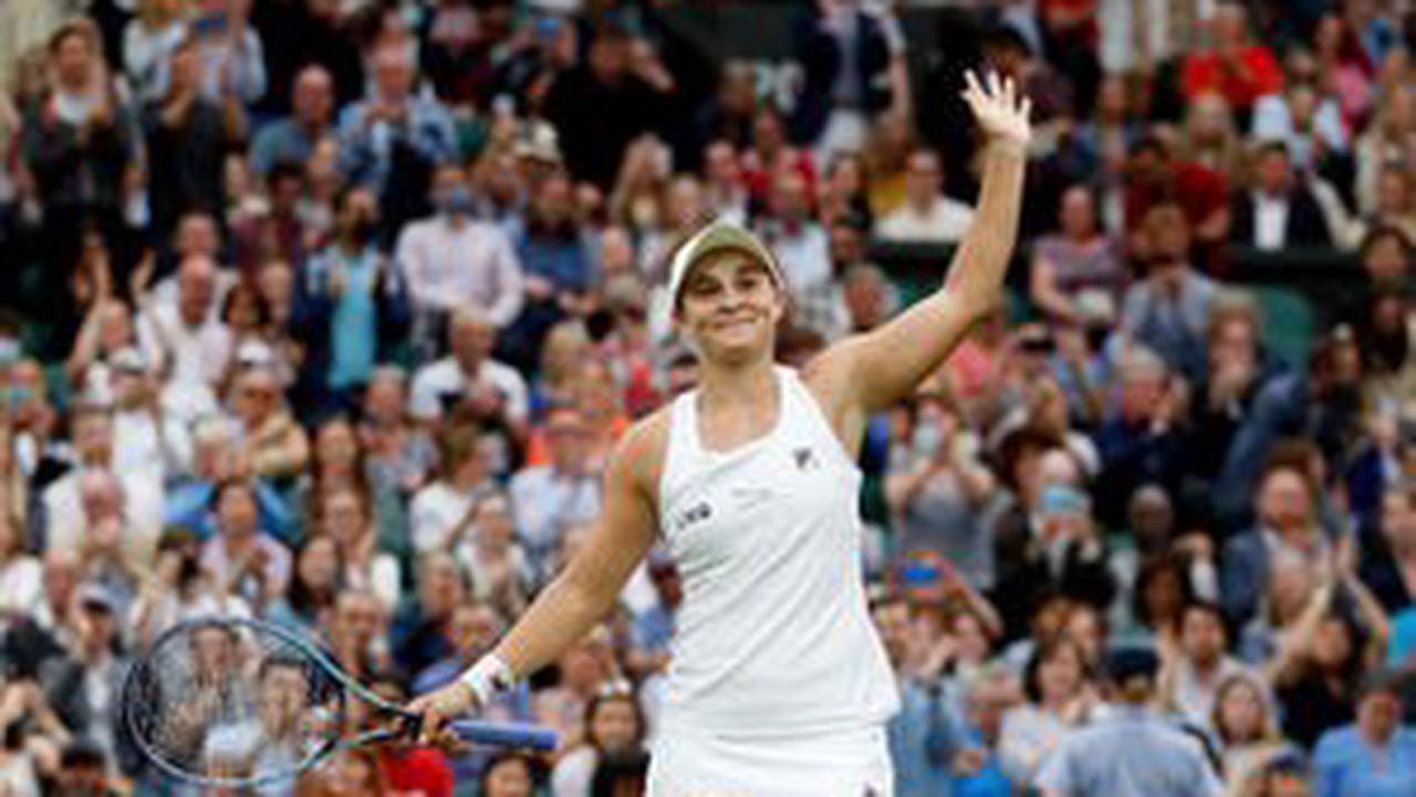 Result: Ashleigh Barty beats Angelique Kerber to reach Wimbledon final