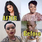 Not Everyone Could Be Lucky With Such Transformation - See Before And After Photos Of Bobrisky