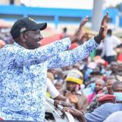 Ruto Mocks BBI Again As He Tours His Home County