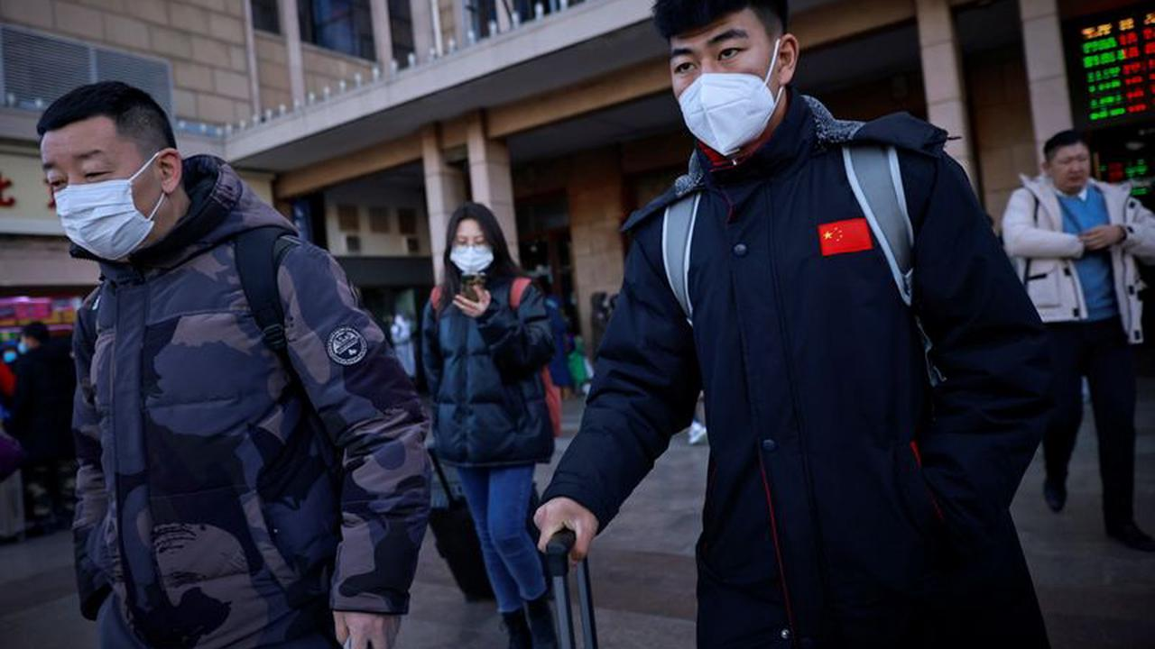 China's capital locks down part of district in coronavirus fight