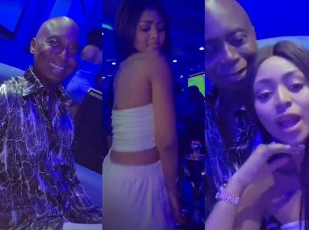 Netizens React After Regina Daniels Dragged Ned Nwoko To The Club And Twerked For Him
