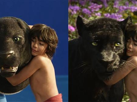 The Jungle Book:Behind the scenes pictures of the movie.