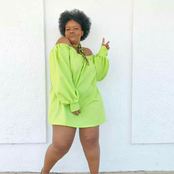Be inspired by these outfits from plus size model Ziyanda Nkunjana