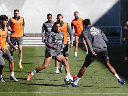 Check out Real Madrid's last training pictures ahead of tie against Levante on Sunday
