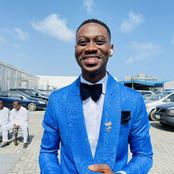 Photos: Fans make mockery of the shoe Lateef Adedimeji wore to Woli Arole's wedding ceremony