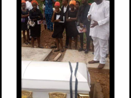 Damilola, Joshua, Mike-Bamiloye, others turn out for burial of Mount Zion actress (photos)