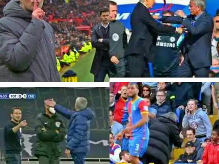 Jose Mourinho's Top 10 Funniest Touchline controversial incidents