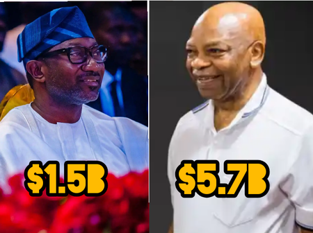 Sir Author Eze Vs Femi Otedola: Who Is The Richest Businessman?