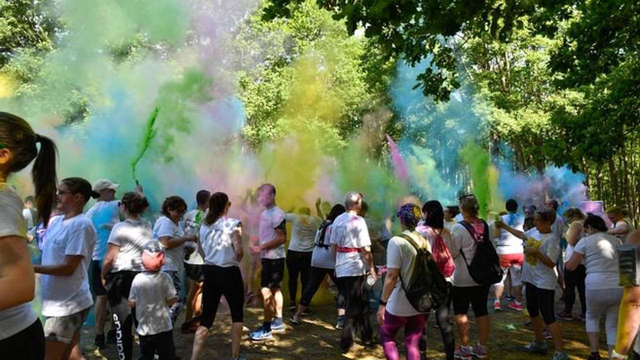 Une course caritative aux mille couleurs à Vichy le 26 septembre