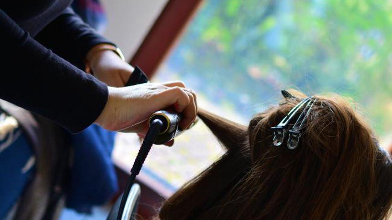 Hairdressers are fully booked 'for a month' as salons reopen from Monday