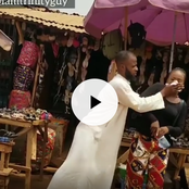 Video: He Was Nearly Beaten Up After He Intentionally Cleaned A Lady's Make-up In the Name Of Comedy