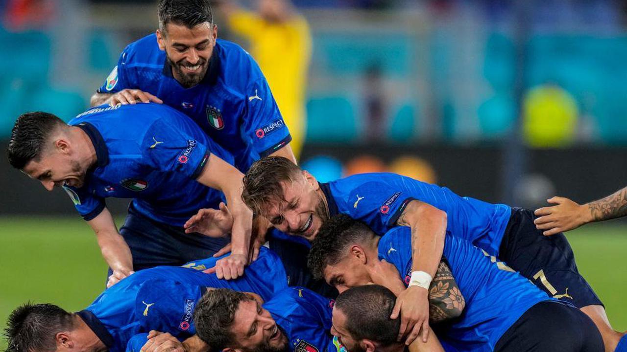 Italien nach Glanzvorstellung als erstes Team im Achtelfinale
