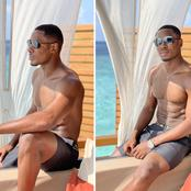 If you kneel before God you can stand before anyone — Odion Ighalo says after sharing few pictures