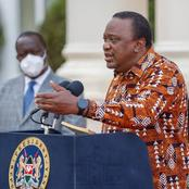 Section of Kenyans Angered After This Happened to a man Who Threatened to Shoot President Uhuru