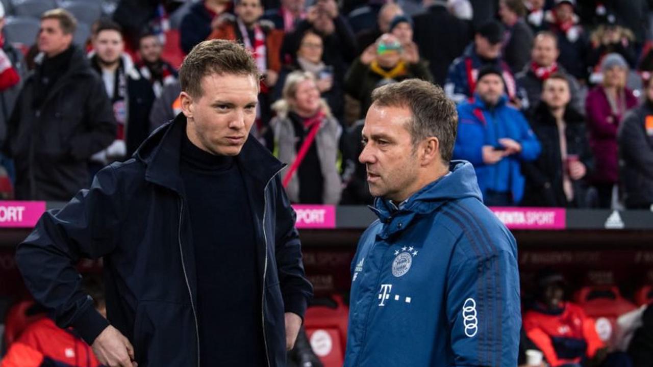 Hansi Flick du Bayern Munich a écrit à Julian Nagelsmann pour le féliciter