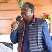 Raila's Contribution Towards Ayimba's Medication that has Excited a Jubilee Senator