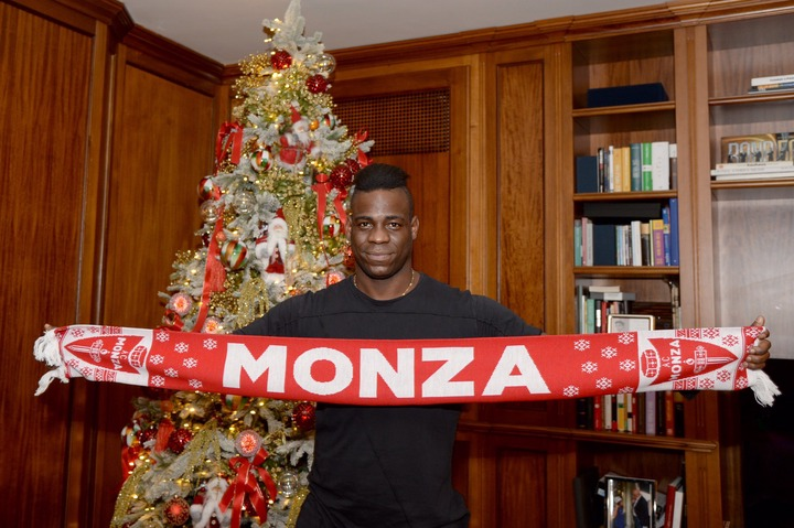 Mario Balotelli Joins Serie B side AC Monza on a free transfer