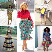 10 beautiful Ankara skirts you can rock with regular tops in 2020
