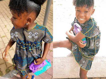 Mothers, See How You Can Style Your Baby's Hair Tomorrow