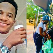 Man Cries As His Girlfriend Bought Groceries For Him Because He Is Broke.