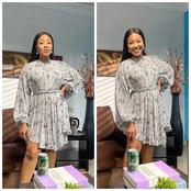 Trikytee, Denrele Edun & Others react as Erica radiates in new photos