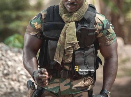 Check Out Instagram Pictures Of The Strongest Soldier In The Whole Of Africa