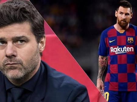 Check out what PSG manager said about Messi's future