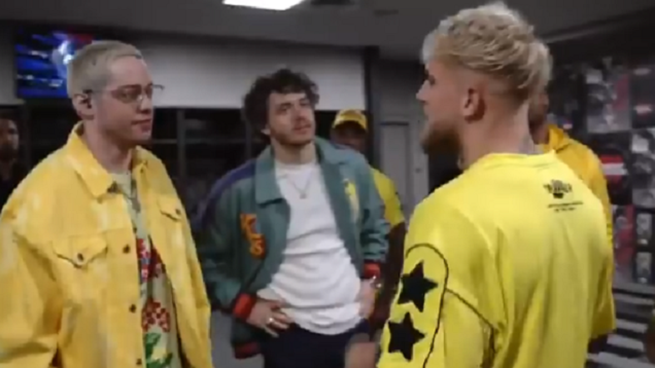 Jake Paul calls for Pete Davidson to be banned from boxing commentary after comedian ridicules him to his face