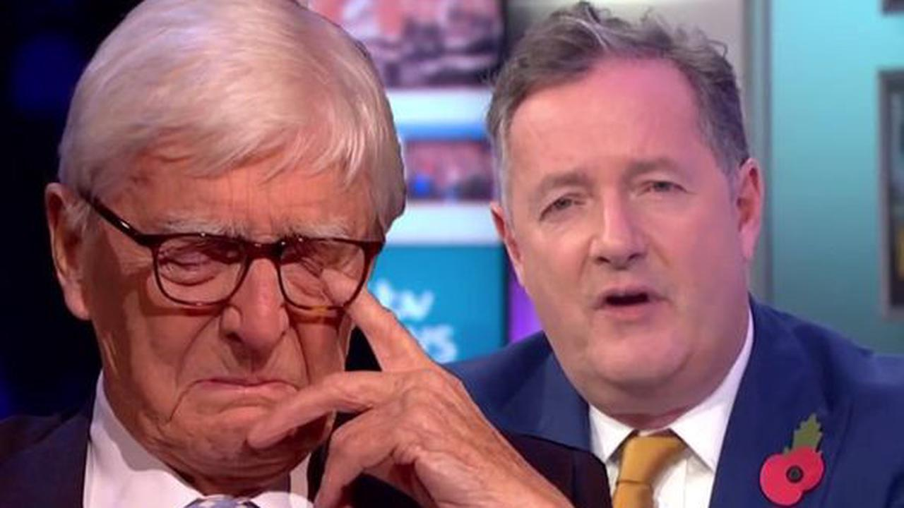 Michael Parkinson addresses breaking down on Piers Morgan's Life Stories appearance
