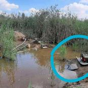 In Shock!! SEE what the Metro Police found in the bush of Boksburg- Gauteng.